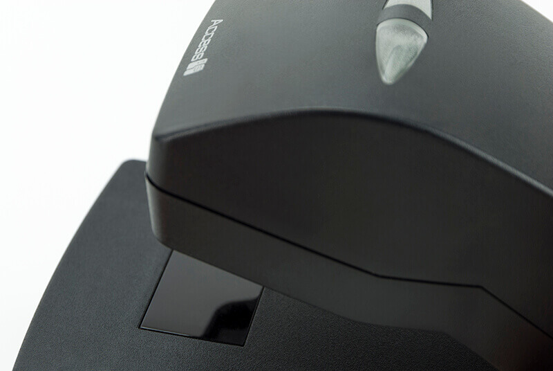 LSR120 Barcode Reader - Detail of reading area